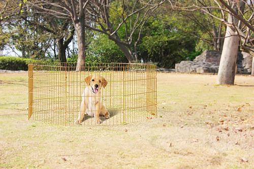 corral para mascotas 8 paneles pawise 60x60cm + envío gratis
