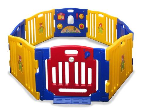 corral para niños de 8 paneles
