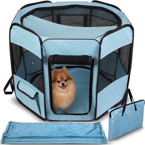corral para perros con cobija  muy resistente alta calidad