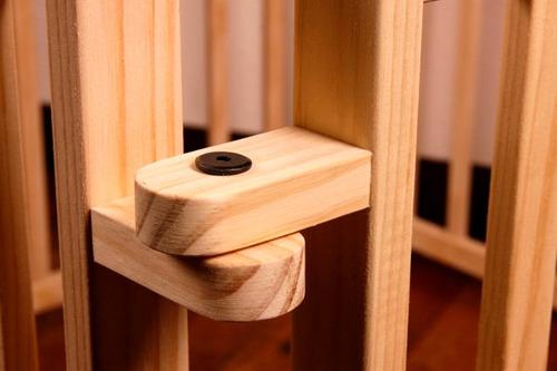 corral pentágono madera desmontable abril tienda - no toxico