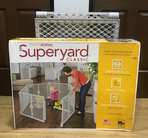 corral reja bebe plegable perro north states superyard