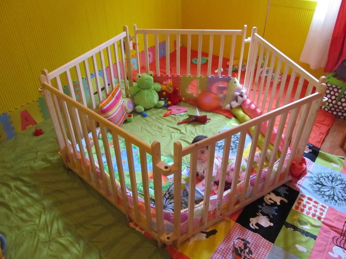 Corrales de madera abril tienda desmontables no toxicos - Como hacer fotos a bebes en casa ...