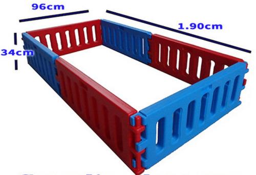 corralito corral pelotero bajo vegui 2x1mt ampliable