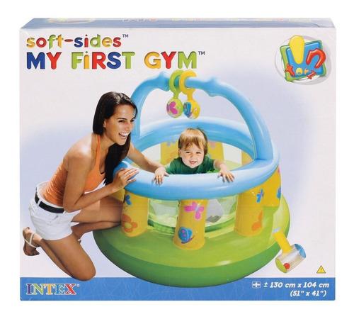 corralito pelotero intex gimnasio bebe intex con red oferta!