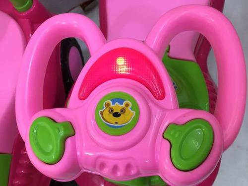 corre pasillo para niños bebes luz  y sonido / envio gratis