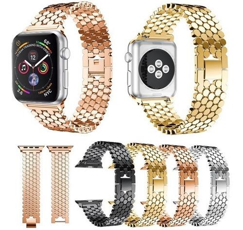 correa acero apple watch  38-40mm 42-44mm series 1 2 3 4 5