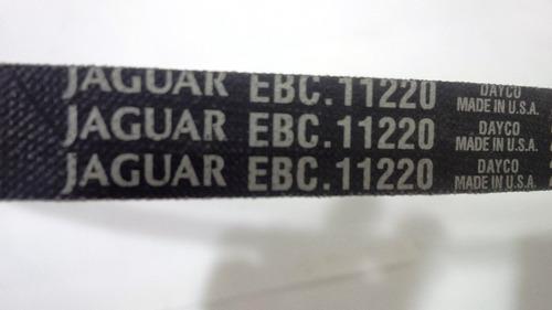 correa aire acondic. jaguar 4.0  xj, xj6, xjs, xjr, original