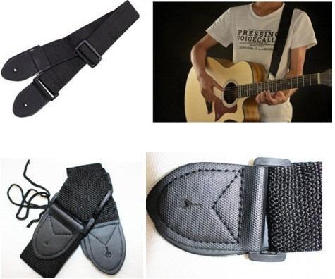 correa ajustable en nylon guitarra eléctrica, acustica bajo