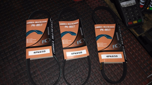 correa alternador spark 4pk650 marca fc pk belt
