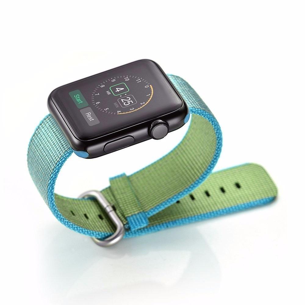 Correa Apple Watch Iwatch Serie 1 Y 2 Nylon Tejido Gama ...
