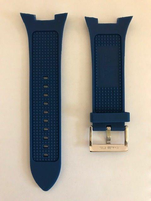 72a3408006b Correa Armani exchange Ax1041 Azul Original Relojfilia -   1