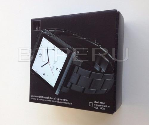 correa banda brazalete ipod nano 6 gen marca hex acero inox