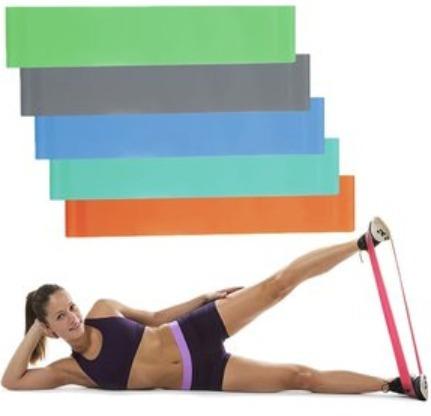 correa banda elastica para yoga gimnasio