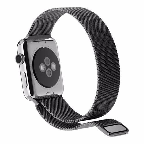 correa / bracelete / manilla apple watch metálica 38 mm
