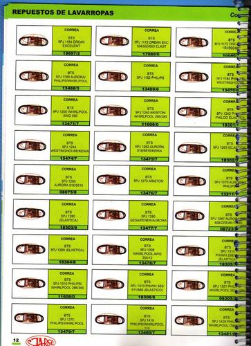 correa bts 5pj 1240 ariston/whirlp.265/283  art.11608/0
