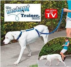 correa canina tipo entrenador - trainer leash as seen on t v
