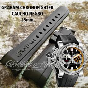 09f4ec73b88e Correa De Caucho Para Reloj Graham - Relojes en Mercado Libre México