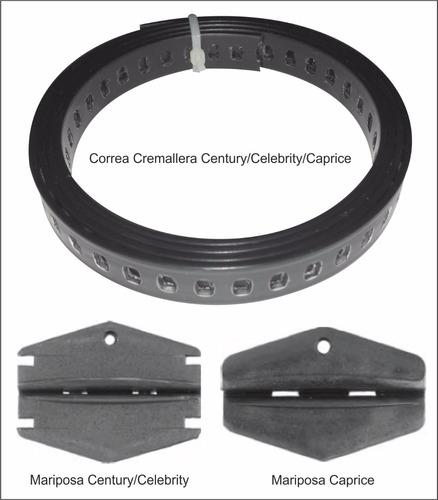 correa cremallera mecanismo vidrio century-celebrity-caprice