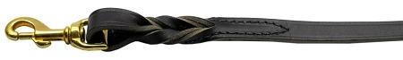 correa cuero correa negro 6 ft largo, 3/8 '' de ancho