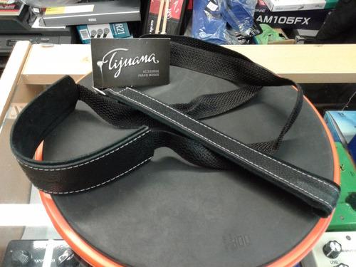 correa de boca tijuana para guitarra criolla 1 gancho cr11 negro