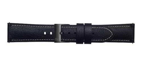 correa de cuero urban traveller (22 mm) negro