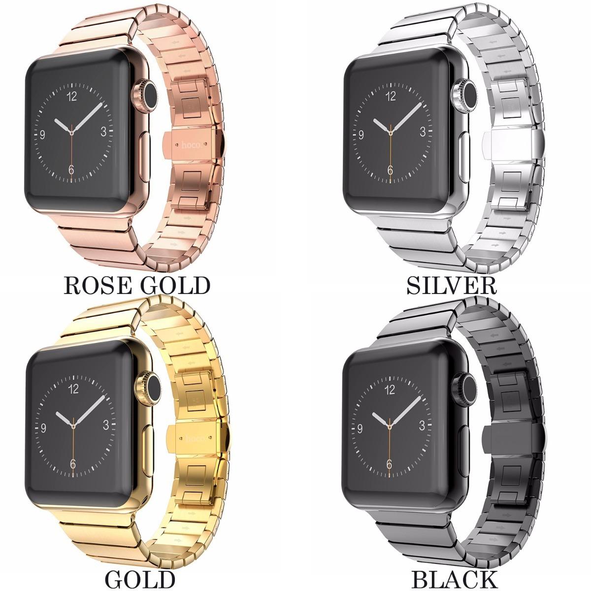 cfae2d5410c1a correa de eslabones de lujo para apple watch + case o mica. Cargando zoom.