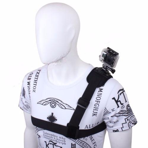 correa de hombro ajustable 360 grados para cámaras de gopro