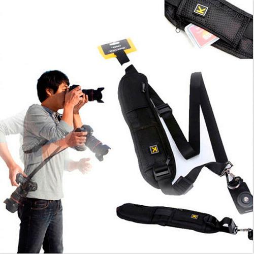 correa de hombro (quick strap) para cámara dslr - fotografía