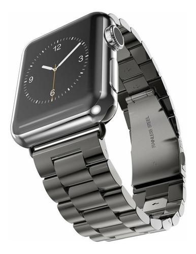 correa  de lujo + case tpu premium para apple watch