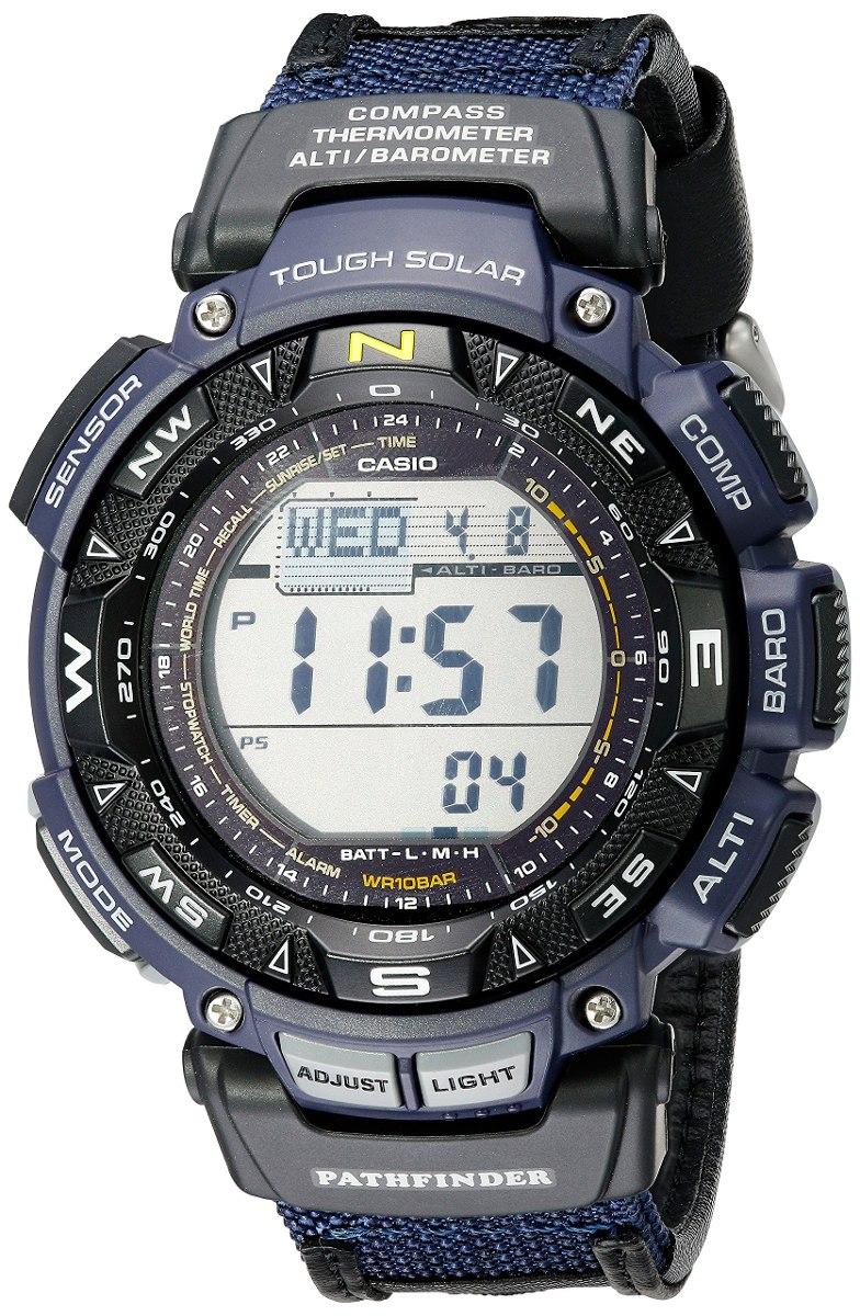 Correa Reloj Nylon De Azul Casio Pathfinder Tripl Hombres ul1cF3TKJ