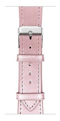 correa de reloj apple covery cuero genuino 38mm serie 1 2 3
