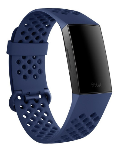 correa de reloj fitbit charge 4 y charge 3 azul talla s