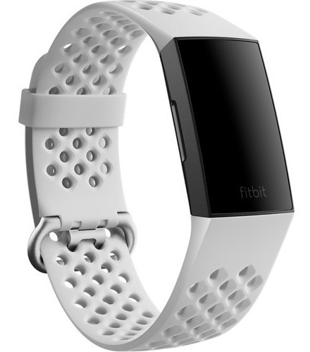 correa de reloj fitbit charge 4 y charge 3 blanca talla l