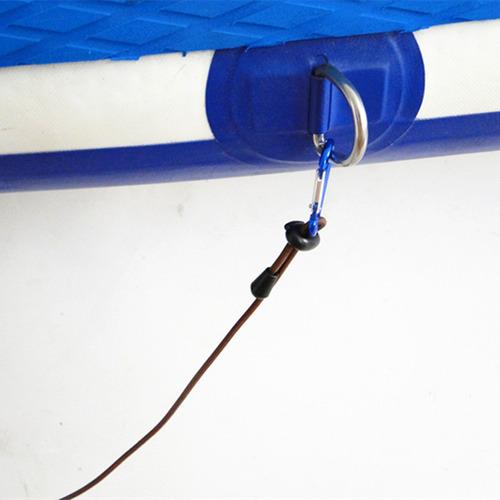 correa de remolque con 2 clip mosquetón para kayak