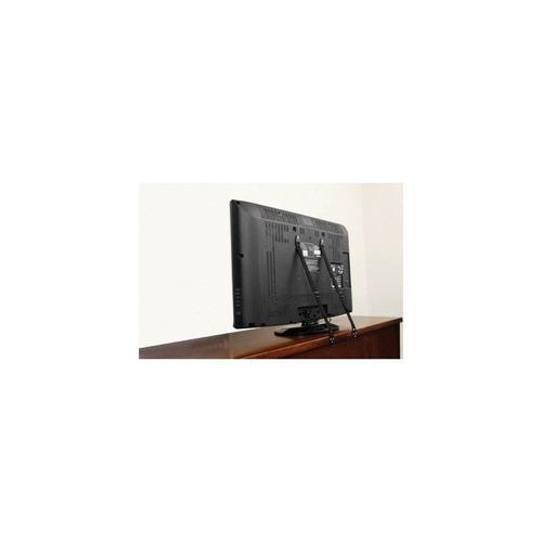 correa de seguridad dreambaby flat screen tv saver, negro -