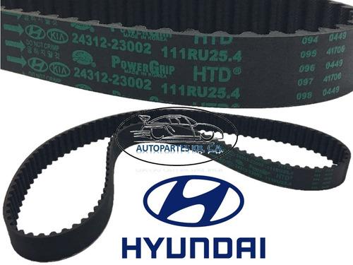 correa de tiempo hyundai elantra 1.6 1.8 (111 dientes)