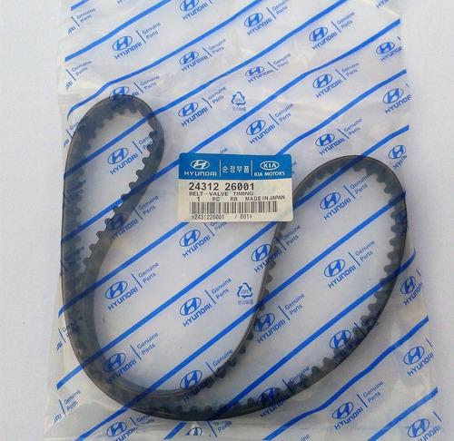correa de tiempo hyundai getz elantra 1.6 105 dientes 26001