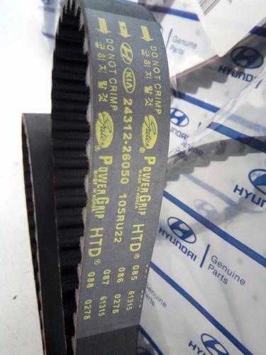 correa de tiempo hyundai getz elantra 1.6 original 105d
