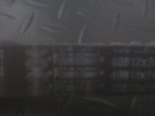 correa de tiempo optra 1.8 /169 dientes /marca gates