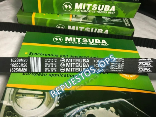correa de tiempo optra desing advance mitsuba 162 dientes