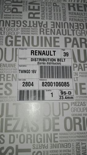 correa de tiempo renault twingo 16v francesa