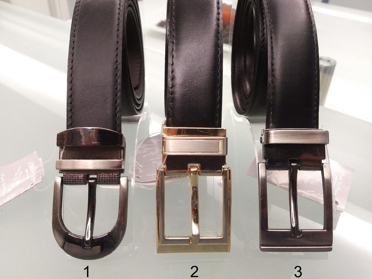 correa de vestir clasica reversible negro marrón 100% cuero. Cargando zoom. c9934463b637