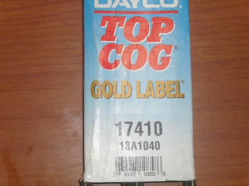 correa en v 17410 universal marca dayco original americana
