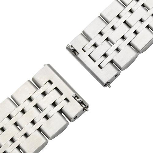 correa eslabones premium para huawei watch gt 2 46mm + mica