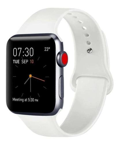 correa extensible silicon para apple watch series 1 2 3 4