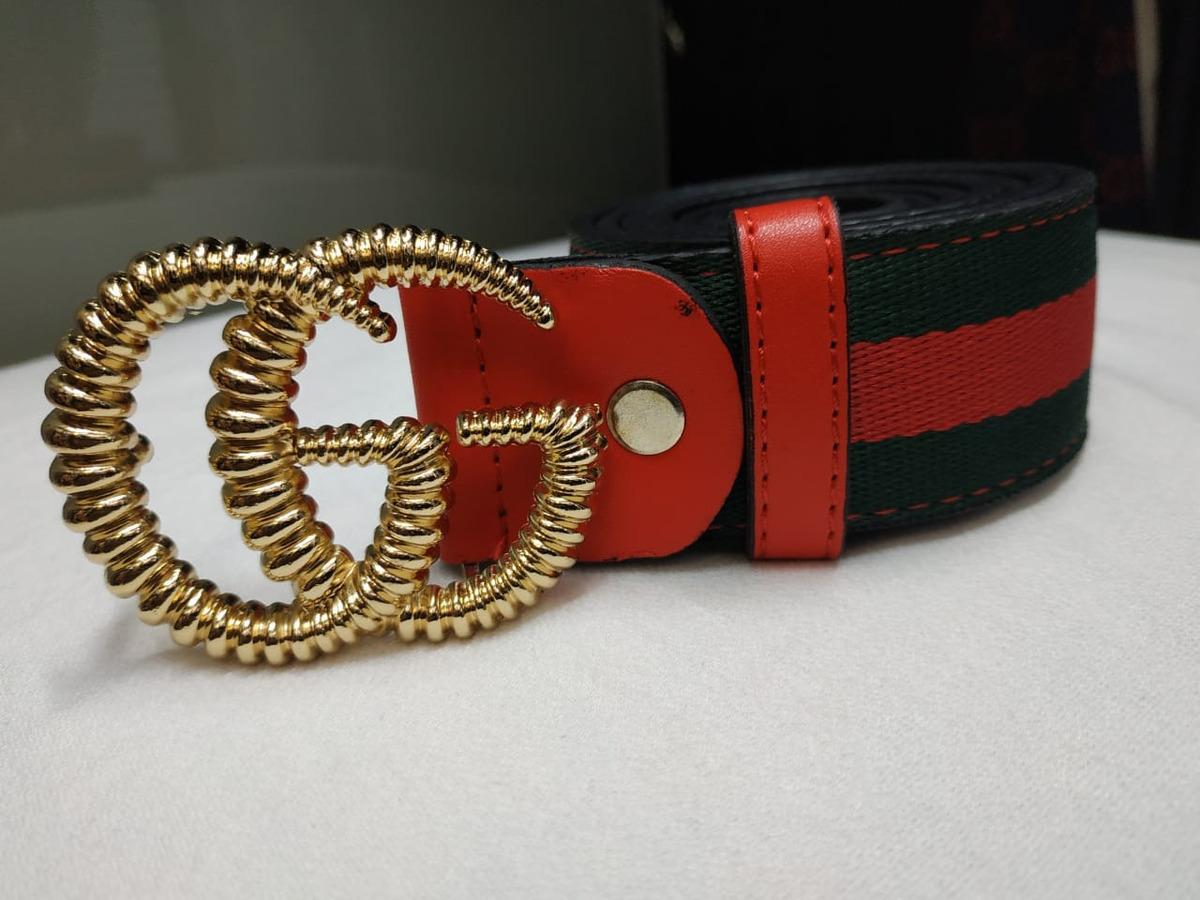 ce7dc47ec Correa Hombre Mujer Gucci Cuero Excelente Calidad - $ 90.000 en ...