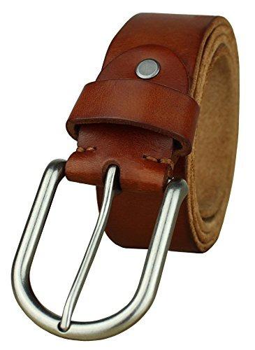 correa lisa heepliday de cuero para hombres cinturon de cuer