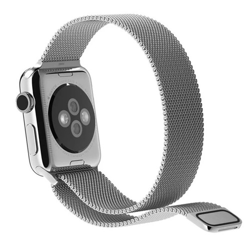 correa malla milanese apple watch 42mm 38mm acero inoxidable