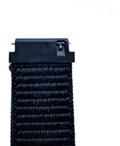 correa malla para amazfit bip de nylon con velcro 20mm