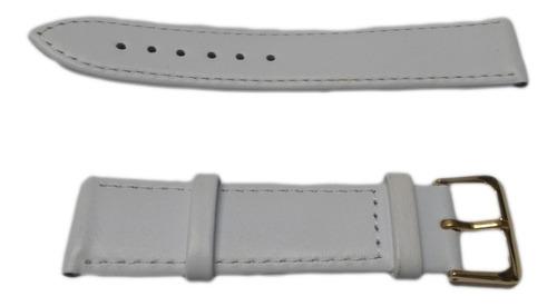 correa / malla para reloj - cuero original - 20 mm de ancho